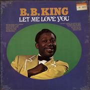 Click here for more info about 'B B King - Let Me Love You - Sealed'