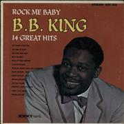 Click here for more info about 'B B King - Rock Me Baby - 70s'