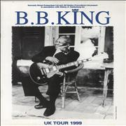Click here for more info about 'B B King - UK Tour 1999'