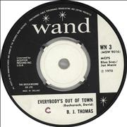 Click here for more info about 'B.J. Thomas - Everybody's Out Of Town'