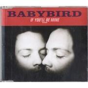 Babybird If You'll Be Mine - CD2 UK CD single