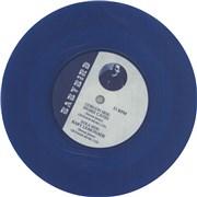 """Babybird Snakecaves - Blue vinyl UK 7"""" vinyl"""