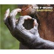 Babybird The F-Word - CD2 UK CD single