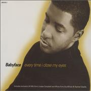 Click here for more info about 'Babyface - Every Time I Close My Eyes'