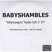 Click here for more info about 'Babyshambles - Killamangiro'