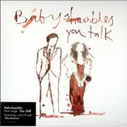 Click here for more info about 'Babyshambles - You Talk - White Vinyl'