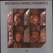 Bachman Turner Overdrive Bachman-Turner Overdrive II UK vinyl LP