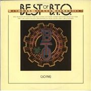 Bachman Turner Overdrive Best Of B.T.O. (So Far) Australia vinyl LP