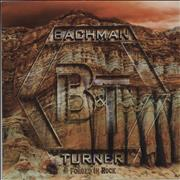 Bachman Turner Overdrive Forged In Rock UK CD album Promo