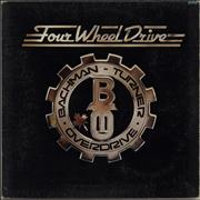 Bachman Turner Overdrive Four Wheel Drive - 1st UK vinyl LP