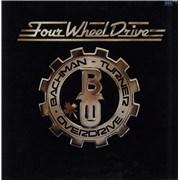 Bachman Turner Overdrive Four Wheel Drive - 1st - EX UK vinyl LP