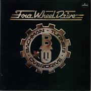 Bachman Turner Overdrive Four Wheel Drive - 2nd - EX UK vinyl LP