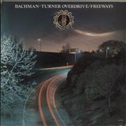 Bachman Turner Overdrive Freeways Barbados vinyl LP