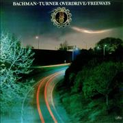 Bachman Turner Overdrive Freeways UK vinyl LP