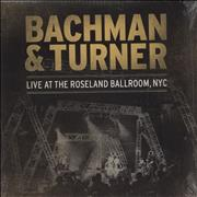 Bachman Turner Overdrive Live At Roseland Ballroom, NYC - Sealed USA 2-LP vinyl set