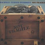 Bachman Turner Overdrive Not Fragile UK vinyl LP