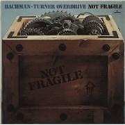 Bachman Turner Overdrive Not Fragile Germany vinyl LP