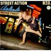 Bachman Turner Overdrive Street Action - EX UK vinyl LP