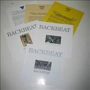 Backbeat Backbeat - Music From The Original Motion Picture USA press pack Promo