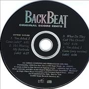 Click here for more info about 'Backbeat - Original Score Edits'