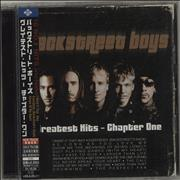 Click here for more info about 'Backstreet Boys - Greatest Hits - Chapter One + Obi + Sticker'
