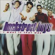 Click here for more info about 'Backstreet Boys - I Want It That Way'