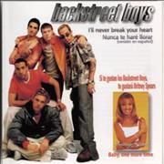 Backstreet Boys I'll Never Break Your Heart Mexico CD single Promo