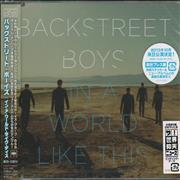 Click here for more info about 'Backstreet Boys - In A World Like This - Sealed'
