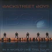 Backstreet Boys In A World Like This Tour UK tour programme