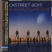 Backstreet Boys In A World Like This Japan CD album Promo