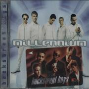 Click here for more info about 'Backstreet Boys - Millenium + phonecard'