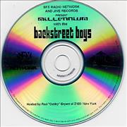 Backstreet Boys Millennium With The Backstreet Boys USA CD-R acetate