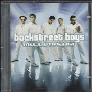 Backstreet Boys Millennium UK mini disc