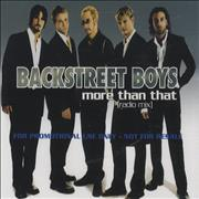 Click here for more info about 'Backstreet Boys - More Than That'