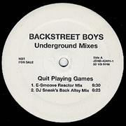 Click here for more info about 'Backstreet Boys - Quit Playing Games'