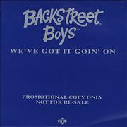 Click here for more info about 'Backstreet Boys - We've Got It Goin' On'