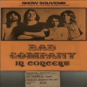 Click here for more info about 'Bad Company - 1974 Show Souvenir + Ticket stubs'