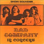 Click here for more info about 'Bad Company - 1974 Show Souvenir'