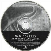 Click here for more info about 'Bad Company - Abandoned And Alone'