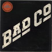Bad Company Bad Company - Stickered Sleeve - EX UK vinyl LP