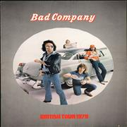 Click here for more info about 'Bad Company - British Tour 1979'
