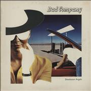 Bad Company Desolation Angels UK vinyl LP