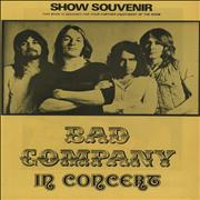 Click here for more info about 'Bad Company - In Concert - Show Souvenir - Yellow'