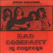 Click here for more info about 'Bad Company - In Concert - Show Souvenir'