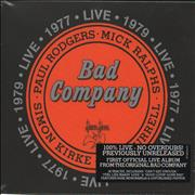 Click here for more info about 'Bad Company - Live 1977 & 1979 - Sealed'
