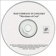 Click here for more info about 'Bad Company - Merchants Of Cool'