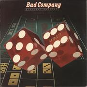 Bad Company Straight Shooter - 1st UK vinyl LP
