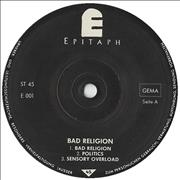 Click here for more info about 'Bad Religion - Bad Religion EP'