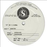 Click here for more info about 'Badfinger - Airwaves - Test Pressing'