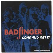"Badfinger Come And Get It Germany 7"" vinyl"